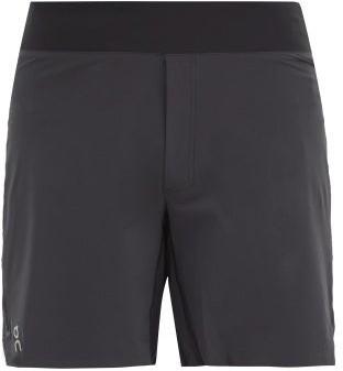 On Elasticated-waist Shell Shorts - Black