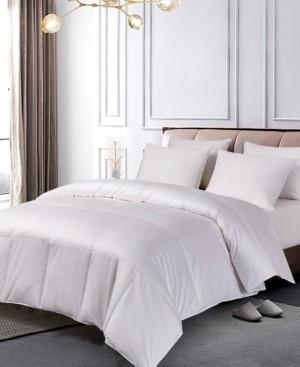 Blue Ridge 1000 Thread Count Pima Cotton European White Goose Down King Comforter