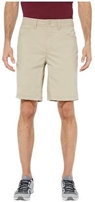Royal Robbins Active Traveler Stretch Shorts (Khaki) Men's Shorts