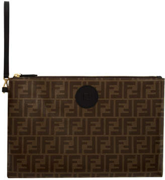 Fendi Brown Forever Pouch
