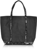 Vanessa Bruno Cabas Petite Canvas Small Tote Bag