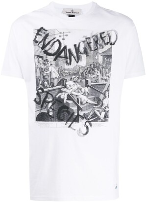 Vivienne Westwood Endangered Species print T-shirt
