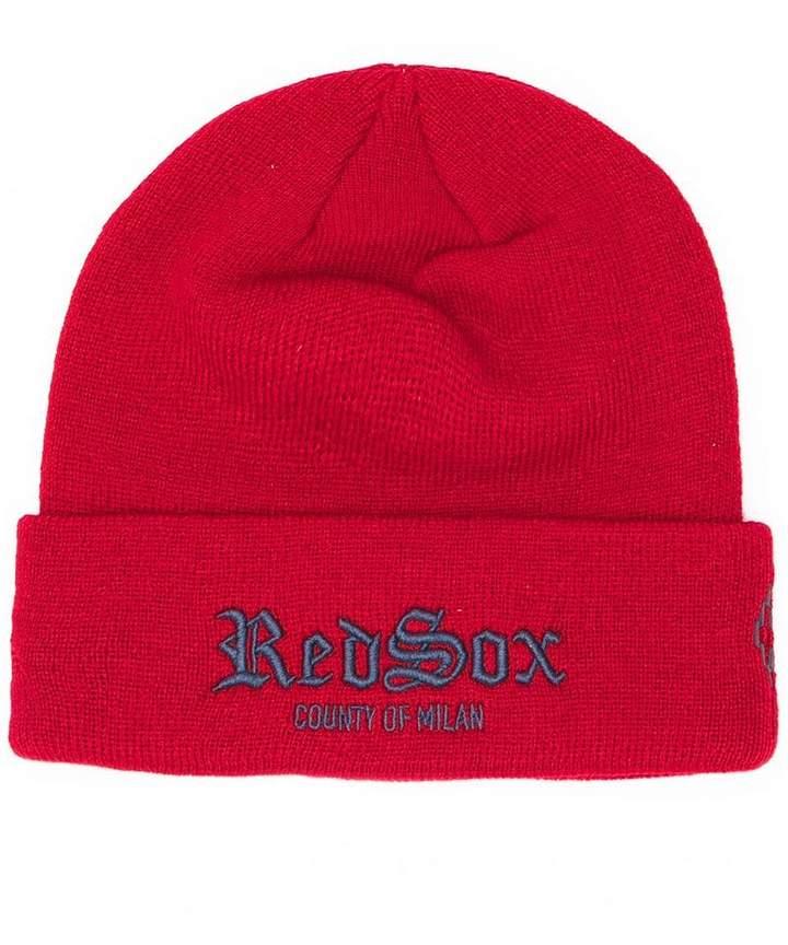 d0e56860ee0463 Marcelo Burlon County of Milan Red Men's Hats - ShopStyle