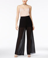BCX Juniors' Illusion Palazzo Pants