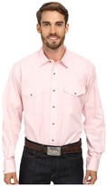 Roper Solid Poplin L/S Shirt Men's Long Sleeve Button Up