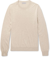 Canali - Slim-fit Cotton And Silk-blend Sweater