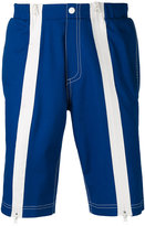 Andrea Crews frontal stripes shorts - men - Cotton - S
