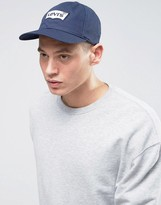 Levis Levi's Batwing Baseball Cap In Navy