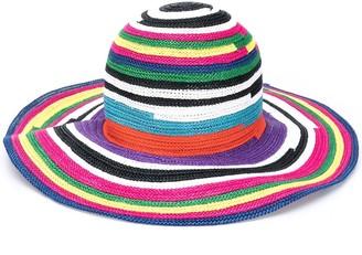 Missoni Mare Woven Striped Sun Hat