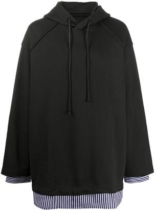 Juun.J Fundamental oversized hoodie