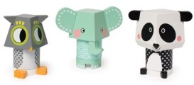 Manhattan Toy Company Manhattan Toy Mix And Match Magnetic Stackers Panda, Owl, Elephant