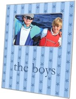 The Well Appointed House Blue Stars & Stripes Decoupage Photo Frame-Can Be Personalized