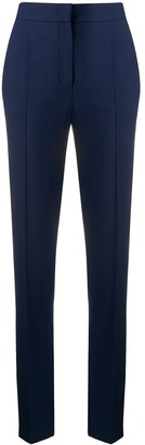 Alberta Ferretti High Rise Straight Leg Trousers