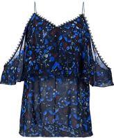 Yigal Azrouel 'Midnight Ferns' blouse