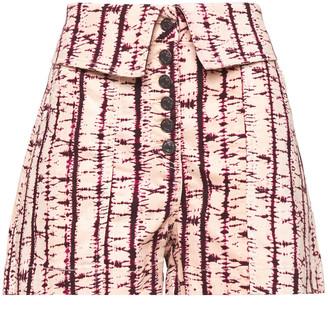 Ulla Johnson Kase Washed-denim Shorts