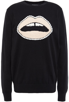 Markus Lupfer Embroidered Cotton Sweater
