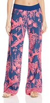 Lilly Pulitzer Women's Seaside Beach Pant Night Caw