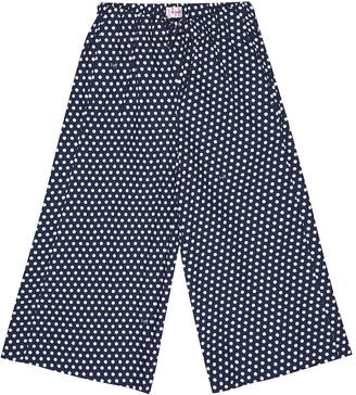Il Gufo Polka-dot cotton pants