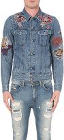 Diesel D-jim Embroidered Denim (blue) Jacket