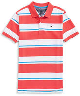 Tommy Hilfiger Hibiscus Striped Polo
