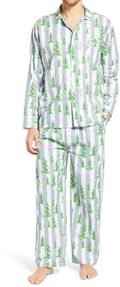 Sant and Abel Gray Malin Snow Pajamas