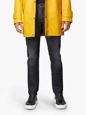 HUGO BOSS BOSS Delaware Slim Fit Jeans, Charcoal