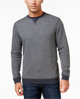 Tasso Elba Men's Big and Tall Colorblocked Stripe Sweatshirt, Only at Macy's