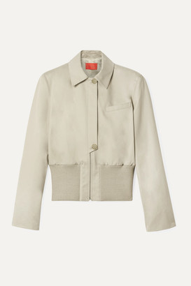 BEIGE Commission - Cotton-gabardine Jacket
