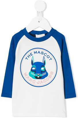 Little Marc Jacobs The Mascot two-tone top