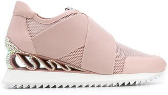 Le Silla Wedged Sole Sneakers