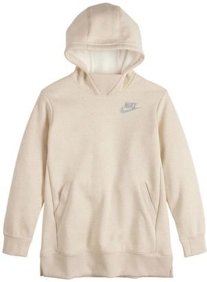 Nike Girls 7-16 Fleece Hoodie