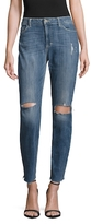 Siwy Ladonna Faded Slim Crop Cotton Jeans