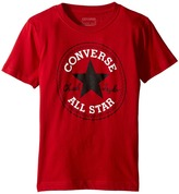 Converse Snow Yarn Chuck Patch Tee (Big Kids)