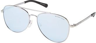 Michael Kors 56 mm San Diego MK1045 (Silver/Powder Blue Mirror) Fashion Sunglasses