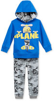 Nannette 2-Pc. Camouflage Hoodie & Jogger Pants Set, Toddler Boys (2T-5T)