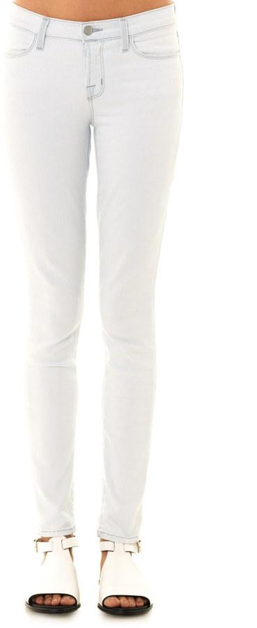J Brand 620 mid-rise super skinny jeans