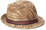Gap Palm straw fedora