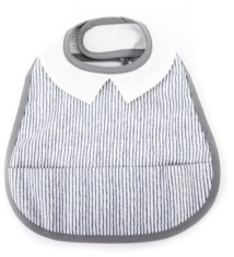 Perry Mackin Certified Organic Cotton Coated Baby Bib