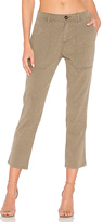 James Perse Workwear Pant in Army. - size 27 (also in 28)