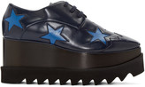 Stella McCartney Navy Elyse Star Derbys