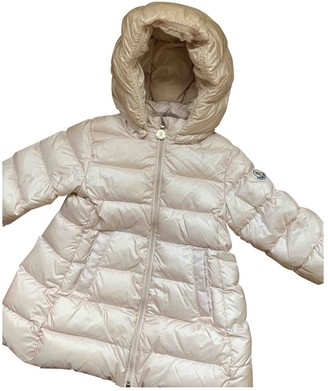 Moncler Pink Polyester Jackets & Coats