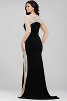 Jovani 22954 Crystal Embellished Sheath Dress