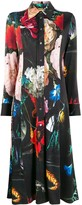 Paul Smith floral print shirt dress