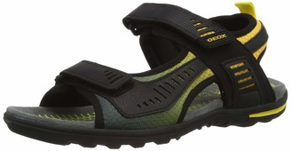 Geox Men's U TEVERE C Open Toe Sandals