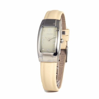 Chronotech Womens Analogue Quartz Watch with Leather Strap CT2071L-02
