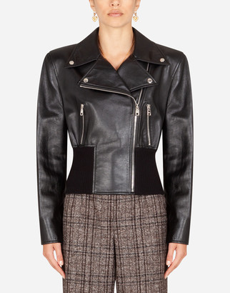 Dolce & Gabbana Studded Leather Jacket