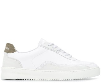 Filling Pieces Low-Top Lace Trainers