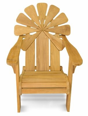 Adirondack Veun Petals Teak Chair Bay Isle Home