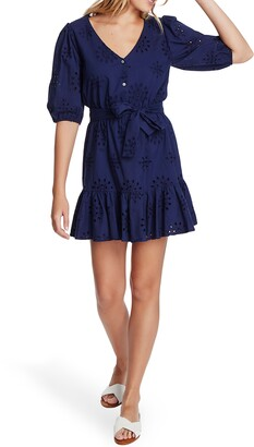 1 STATE Eyelet Minidress
