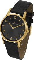 Jacques Lemans Women's 1-1778O London Classic Analog Leather Strap and Flat Caseversion Watch